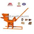 Manual de ladrillo que hace la máquina de bloques de arcilla