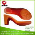 suela de sandalias de dama
