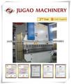 JUGAO WC67Y série de metal máquina de dobrar chapa