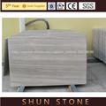 mármol blanco veta de madera con el precio bajo