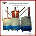 Surri fuente de la fábrica de carbonización estufa/del carbón de leña estufa de carbonización