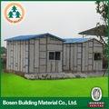 el mejor precio de eps utilizado azulejo de techo de teja de hormigón de cemento panel sándwich prefabricado casa