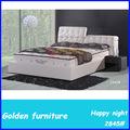 camas de madera maciza cama de cuero 180x200
