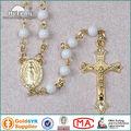 Granos de acrílico al por mayor del collar del rosario católico