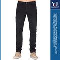 caliente hombres diseñado con estilo delgado recta jean pantalones casual pantalones pitillo