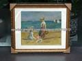 pintura playas del petróleo