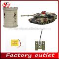 1:24 infravermelho rc tanques vs turret battle tank tanque de hq de tanques do exército