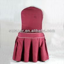 elegante de la boda silla decoración cubre