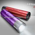 fábrica usb venda direta banco de energia móvel com luz forte para o iphone GPS, PSP, MP3/MP4 etc