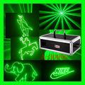 solo 3w máquina laser de la animación verde A-3000G laser ligh