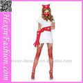 venta al por mayor blanco caliente sexy para adultos del hospital vestido de cosplay up enfermera traje para la fiesta