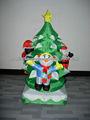 2014 Nuevos Productos árbol de Navidad inflable
