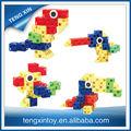 los niños en edad preescolar juguetes bloque de conexión