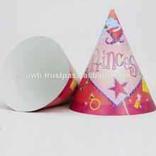 Materialparte tapas/la fiesta de cumpleaños sombrero de papel