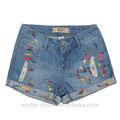 verano señora de la moda caliente pantalones vaqueros pantalones cortos