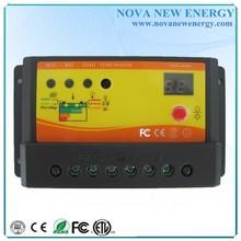 10A PWM Controlador de carga solar