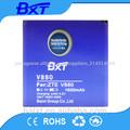 Li-ion 3.7v 1600 mah v880 china peças de telefone celular zte bateria