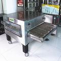 Pizza horno con transportadora de gas
