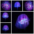 natal inflável interior medusas com luz