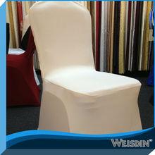 guangzhou climatizada de lujo decorativo spandex silla de cubiertas desechables