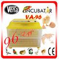 Partes ovo incubadora melhor máquina de venda nascedouro alta qualidade VA-96 ovo mini-incubadora