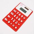 Interwell cr55 calculadora de silicona, de lujo alimentado por energía solar calculadora