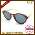 El último fx-27 diseñado skate rojo de madera marco de anteojos, luneta de de soleil