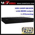 WETRANS DVR5404FD-E de 4 canales 1080p SDI DVR completo