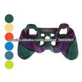 Funda protectora de silicona Dual-Color para el controlador de PS3
