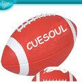 Los fabricantes de venta personalizada pvc1-9 inglés cosido a máquina de fútbol, de fútbol de la pu, pelota de rugby
