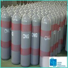 de acero sin costura de alta presión del cilindro de gnc para vehículos
