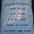 Suministro de bicarbonato de amonio 99.2%( de grado de alimentos)