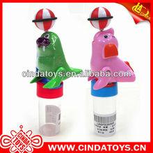 de dibujos animados de viento hasta los animales juguetes de plástico dulces para los niños