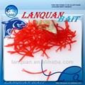 Lanquan de alta calidad de moda artificial señuelo- gusano cebo de plástico blando