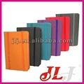 personalizada de cuero cuadernos de orden del día