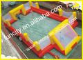 Venda quente inflável equipamentos de campo de futebol