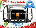 Puro Android 4.2 PARA HYUNDAI New santa fe 2010-2012 coche DVD GPS con pantalla capacitiva Multi Touch, 1GHz de doble núcleo