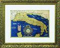 Carta Tolemaica dell'Italia (1578), Gerardo Mercator. Facsímil. [Mapa Tolemaico de Italia]
