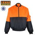chaqueta de bombardero, chaqueta impermeable, chaqueta del invierno
