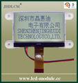 """2.5"""" fstn lcd con agujero de la instalación JHD12864-G76IBSW-G"""