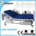 deluxe hospital elétrica médica cama com colchão e cama de hospital folha