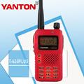 Fábrica yanton t-610plus 5w vox y exploración de fm de radio walkie- talkie radio de la estación