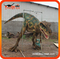 Traje de dinosaurio hecho la fabrica de Dino Walk