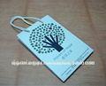 reciclado de papel plegable bolso de compras