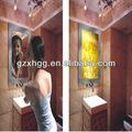de promoción de cristal caja de luz mágica espejo de cristal