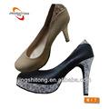 2014 oem moda venda quente novo estilo preto e branco de alta- heeled calçados femininos
