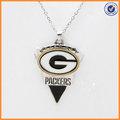 campeonato colar de pingente personalizado designer Green Bay Packers dos homens