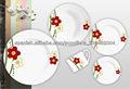 20pcs dinner set porcelain round shape