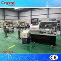 china fabricante de torno cnc pequeño banco de metal de la máquina del torno ck6132a