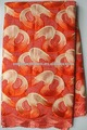 mais recente projeto novo suíço do laço bordado de cor laranja para tecido 2065
